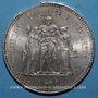 Coins 5e république (1959- ). 50 francs 1978 bord de feuille. R ! R ! R !