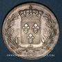 Coins Charles X (1824-1830). 5 francs, 2e type, 1828 D. Lyon