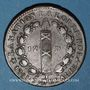 Coins Constitution (1791-1792). 12 deniers 1791 °MA°. Marseille. Cuivre. Type FRANCOIS