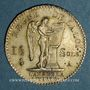 Coins Constitution (1791-1792). 15 sols 1791A  type FRANCOIS.
