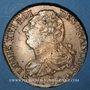 Coins Constitution (1791-1792). 2 sols 1792 A, type FRANCOIS. Métal de cloche