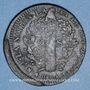 Coins Constitution (1791-1792). 2 sols 1792 BB. Strasbourg. Type FRANCAIS. Cuivre