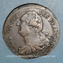Coins Constitution (1791-1792). 2 sols 1792 BB. Strasbourg. Type FRANCAIS, MdC