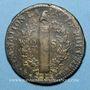 Coins Constitution (1791-1792). 2 sols 1792 W. Lille, 1er semestre, type FRANCOIS. MdC