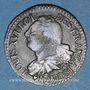 Coins Constitution (1791-1792). 3 deniers 1792 BB. Strasbourg. Type FRANCAIS