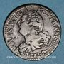 Coins Constitution (1791-1792). 3 deniers 1792 D. Lyon. 2e semestre. Type FRANCOIS