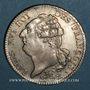 Coins Constitution (1791-1792). Ecu de 6 livres, type FRANCOIS 1792 A. 2e semestre