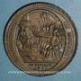 Coins Constitution (1791-1792). Monneron de 5 sols au serment 1792, an IV