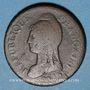 Coins Consulat (1799-1804). 1 décime an 9 G. Genève