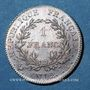 Coins Consulat (1799-1804). 1 franc an 12 A, 1er Consul