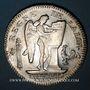 Coins Convention (1792-1795). Ecu de 6 livres constitutionnel 1793 A,  type FRANCOIS