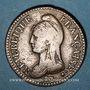 Coins Directoire (1795-1799). UN décime, modification du 2 DECIMES avec S effacé an 4 A