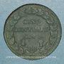Coins Directoire & Consulat. 5 centimes an 8 BB. Strasbourg