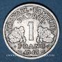 Coins Etat Français (1940-1944). 1 franc 1943B