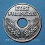 Coins Etat Français (1940-1944). 20 centimes 1944, Fer