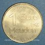 Coins Euro des Villes. Meudon (92). 1 euro 1998