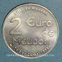 Coins Euro des Villes. Meudon (92). 2 euro 1998