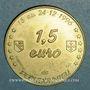 Coins Euro des Villes. Pechbonnieu (31). 1,5 euro 1996
