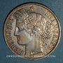 Coins Gouvernement de défense nationale (1870-1871). 5 francs Cérès sans légende 1870 A