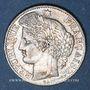 Coins Gouvernement de défense nationale (1870-1871). 50 centimes Cères 1871 K. Bordeaux