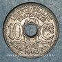 Coins Gouvernement provisoire (1944-1947). 10 cmes 1945
