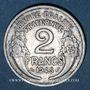 Coins Gouvernement provisoire (1944-1947). 2 francs Morlon aluminium 1945 C