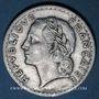 Coins Gouvernement provisoire (1944-1947). 5 francs Lavrillier aluminium 1945 B