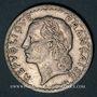 Coins Gouvernement provisoire (1944-1947). 5 francs Lavrillier aluminium 1946 B