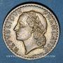 Coins Gouvernement provisoire (1944-1947). 5 francs Lavrillier bronze d'aluminium 1946 C