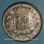 Coins Henri V, prétendant (1830-1883). 1 franc tranche striée 1831