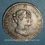 Coins Italie. Lucques et Piombino. Elisa Bonaparte et Félix Baciocchi (1805-1814). 5 franchi 1807