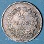 Coins Louis Philippe (1830-1848). 1/4 franc 1831 A
