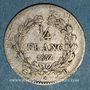 Coins Louis Philippe (1830-1848). 1/4 franc 1832 D. Lyon