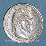 Coins Louis Philippe (1830-1848). 1/4 franc 1832 W. Lille
