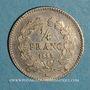 Coins Louis Philippe (1830-1848). 1/4 franc 1835 A