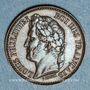 Coins Louis Philippe (1830-1848). 1 centime n. d. (1843-1846). Essai. Poids réduit : 0,97 g