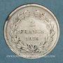 Coins Louis Philippe (1830-1848). 2 francs 1838 A
