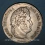 Coins Louis Philippe (1830-1848). 5 francs 1833 W. Lille