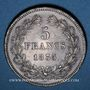 Coins Louis Philippe (1830-1848). 5 francs 1835 B. Rouen