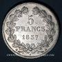 Coins Louis Philippe (1830-1848). 5 francs 1837 A