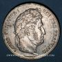 Coins Louis Philippe (1830-1848). 5 francs 1837 W. Lille
