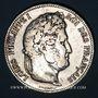 Coins Louis Philippe (1830-1848). 5 francs 1840 W. Lille