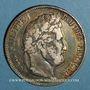 Coins Louis Philippe (1830-1848). 5 francs 1841 B. Rouen