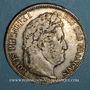 Coins Louis Philippe (1830-1848). 5 francs 1841 W. Lille