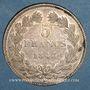 Coins Louis Philippe (1830-1848). 5 francs 1843 W. Lille