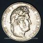 Coins Louis Philippe (1830-1848). 5 francs 1844 W. Lille