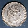 Coins Louis Philippe (1830-1848). 5 francs 1845 W. Lille