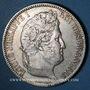 Coins Louis Philippe (1830-1848). 5 francs, tranche en relief, 1831 A