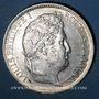 Coins Louis Philippe (1830-1848). 5 francs, tranche en relief, 1831 W. Lille