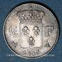 Coins Louis XVIII (1815-1824). 1/4 franc 1817 A